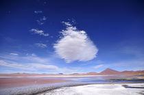 The Red Lagoon by Matteo Bertolino
