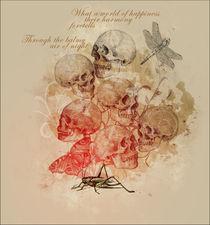 skull tree by Melike Sen