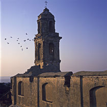 Bussana Vecchia church by Mariann Fercsik