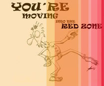 moving into the red zone von Felipe Cunha