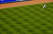 Los Angeles Dodgers  Warm-Up von Brian  Leng