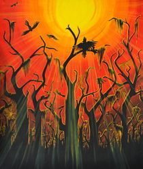 Autumn Sunset von Lauren Montgomery