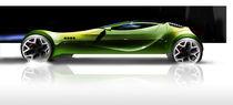 Futuristic green von Sindre Klepp
