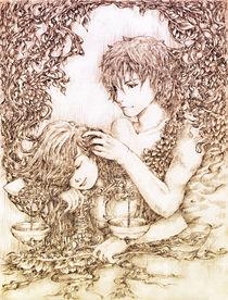 Virgo Loves Libra by legardria