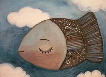 flying fish von Anna Ivanova