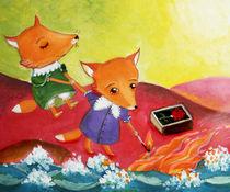 pretty little foxes by Anna Ivanova