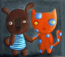 friends by Anna Ivanova