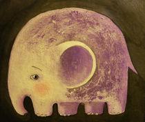 moon elephant by Anna Ivanova
