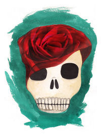 red rose von Anna Ivanova