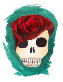 red rose by Anna Ivanova