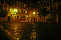 Venice Square at Night by Brian  Leng