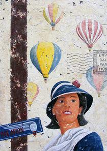 Vol en montgolfière von Roland H. Palm