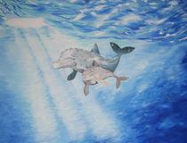 Dolphins von Ruth Baker