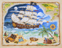 Pirate Ship von Ruth Baker