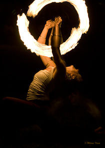 Fire Dancer by Milena Ilieva