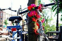 Bicycle with Flowers von Dean Harte