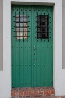 Green door. Old San Juan, Puerto Rico von Irina Moskalev