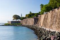 Fort El Morro in Old San Juan, Puerto Rico by Irina Moskalev