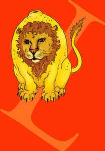 Lemon Lion von Chrissy Culver