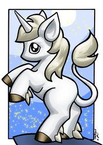 Rampant Unicorn by Phil Monk