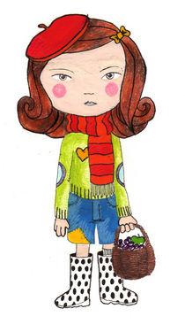 Little girl by ello-elle