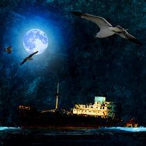 the ghost ship • el buque fantasma by jesuscm