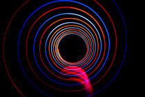 Long exposure light circles von Alex Voorloop