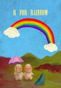 """""""R for Rainbow"""" von Koanne Ko"""