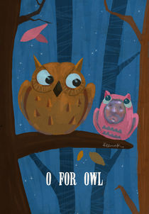 """O for Owl"" by Koanne Ko"