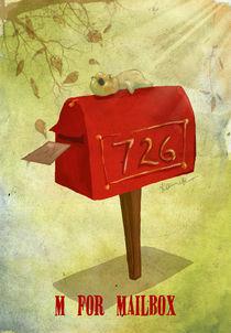 """""""M for Mailbox"""" von Koanne Ko"""