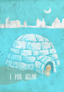 """I for Igloo"" von Koanne Ko"