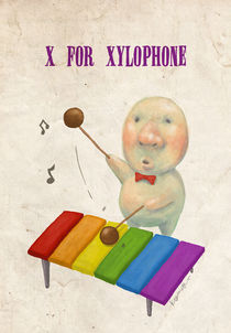 """X for Xylophone"" by Koanne Ko"