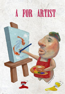 """A for Artist"" by Koanne Ko"