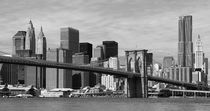 New York Skyline und Brooklyn Bridge von buellom