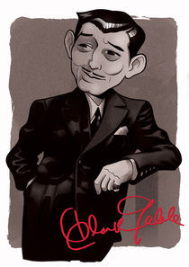 Clark Gable by Christian S