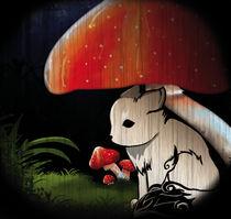 Wolf Mushroom von Floriane IRIBARREN