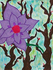 Purple Bloom von Courtney Jones