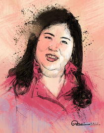 Filipino Journalist Miss Jessica Soho by Ryan Adriano