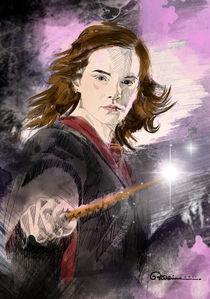 Emma Watson a.k.a. Hermione Granger by Ryan Adriano