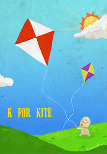 """K for Kite"" von Koanne Ko"