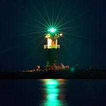 Leuchtturm Warnemünde - Night von captainsilva