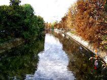 Herbstimpressionen am Berliner Landwehrkanal von Eckhard Röder