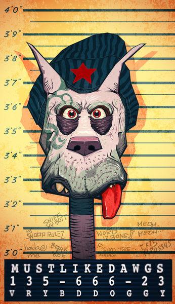 Dog-mugshot