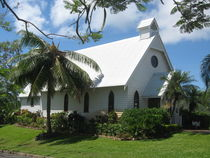 Wedding Chapel on Hamilton Island, Australia by Baerbel Nitychoruk