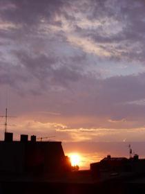 Das Gewitter geht und die Sonne kommt von Jan Siebert