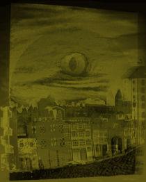 Gelbe Altstadt von Jan Siebert