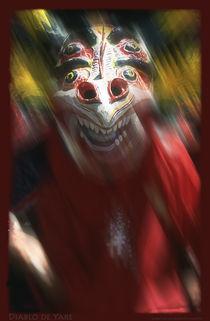 Yare's Devil (Diablo de Yare) Corpus Christy Feast in Venezuela von Juan Carlos Lopez