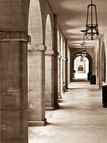 Archway in sepia. by Irina Moskalev
