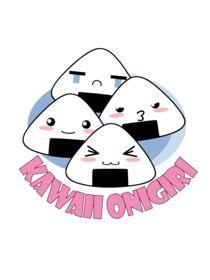 Kawaii Onigiri by bastet