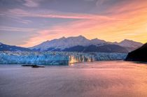Sunrise & Hubbard Glacier von Luis Henrique de Moraes Boucault